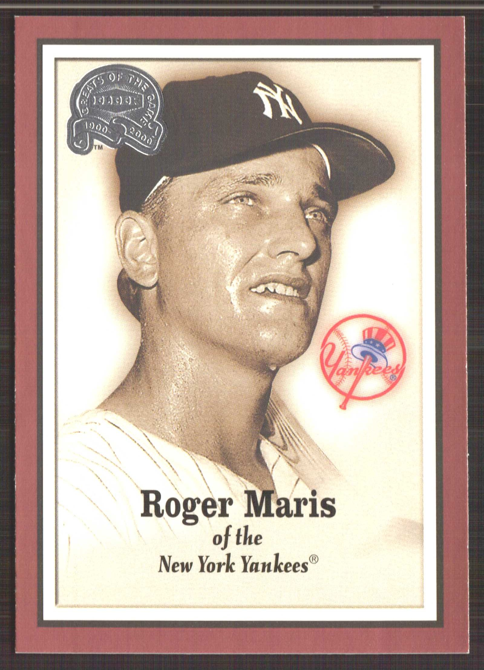 2000 Greats of the Game #7 Roger Maris