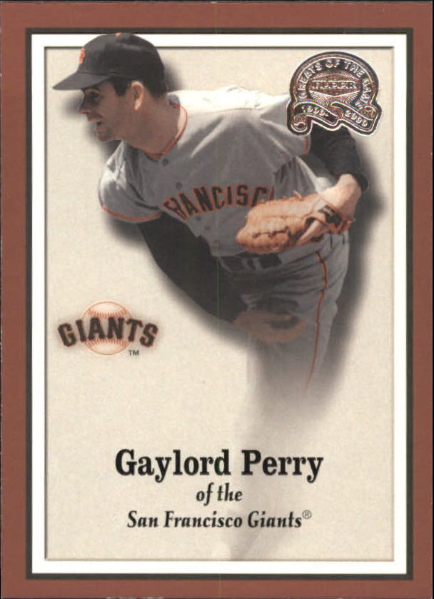 2000 Greats of the Game #105 Gaylord Perry
