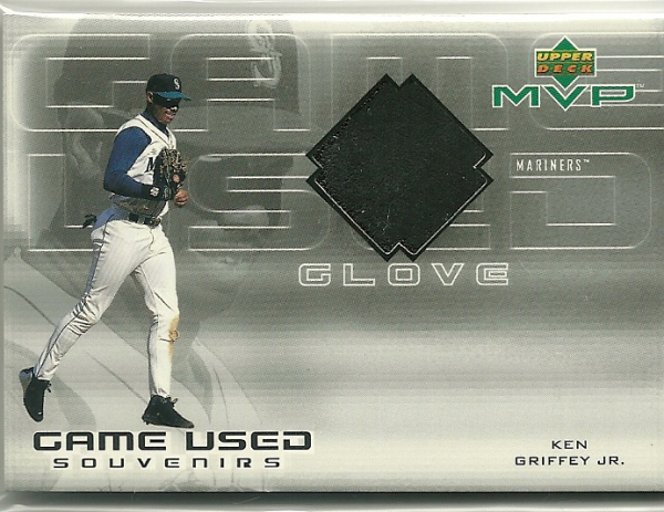 2000 Upper Deck MVP Game Used Souvenirs #KGG Ken Griffey Jr. Glove