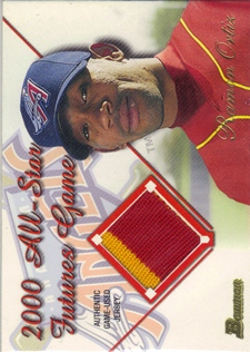 2001 Bowman Futures Game Relics #FGRRO Ramon Ortiz D