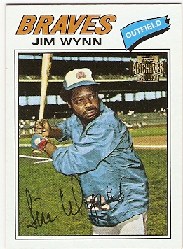 2001 Topps Archives #117 Jim Wynn 77