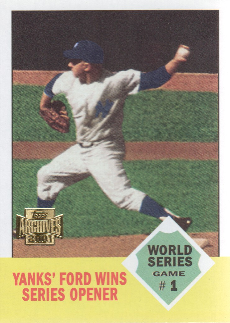 2001 Topps Archives #221 Whitey Ford WS 63