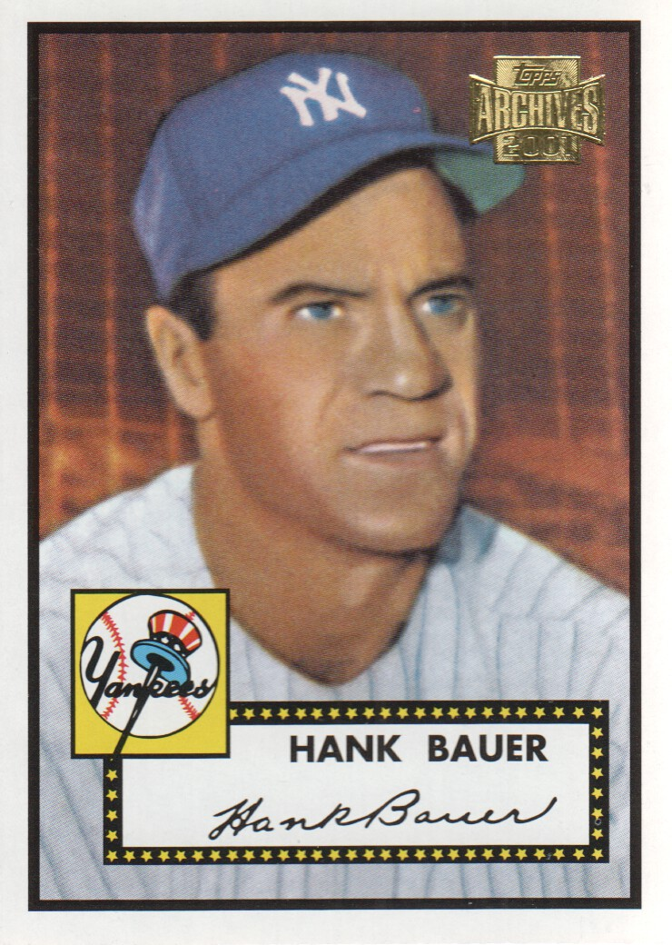 2001 Topps Archives #226 Hank Bauer 52