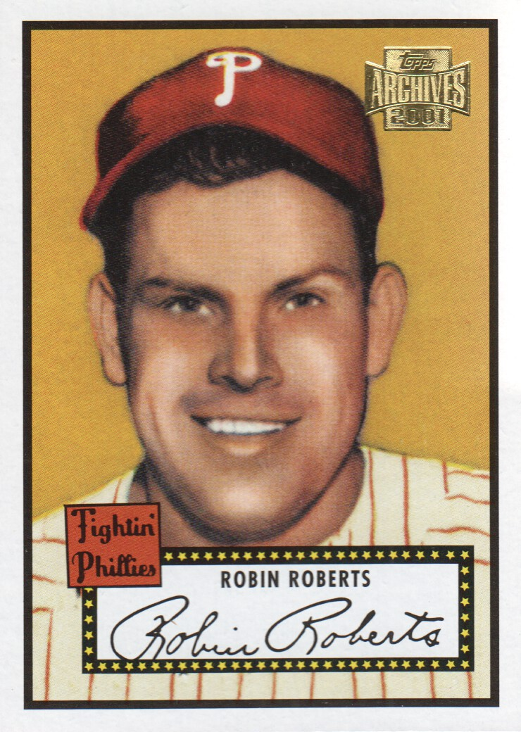 2001 Topps Archives #235 Robin Roberts 52