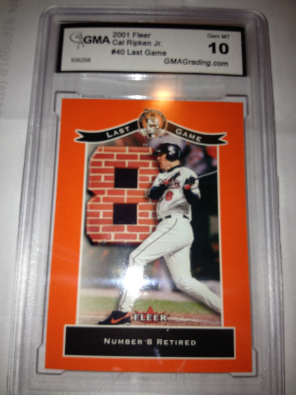 2001 Fleer Ripken Commemorative 50000 #40 Cal Ripken Jr.