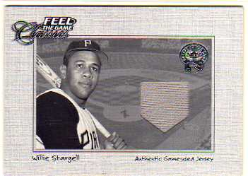 2001 Greats of the Game Feel the Game Classics #22 Willie Stargell Jsy
