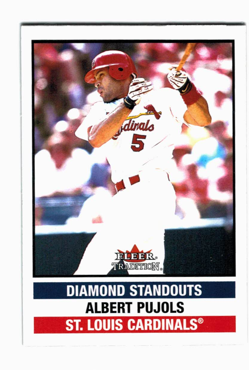2002 Fleer Tradition Update #U276 Albert Pujols DS
