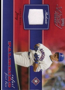 2002 Playoff Piece of the Game Materials #66A Rafael Palmeiro Jsy