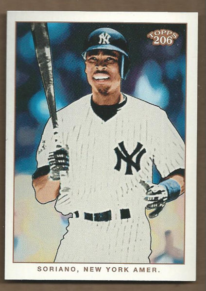 2002 Topps 206 #28 Alfonso Soriano