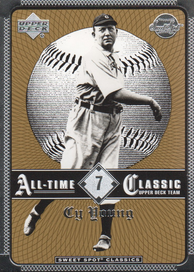 2002 Sweet Spot Classics #7 Cy Young