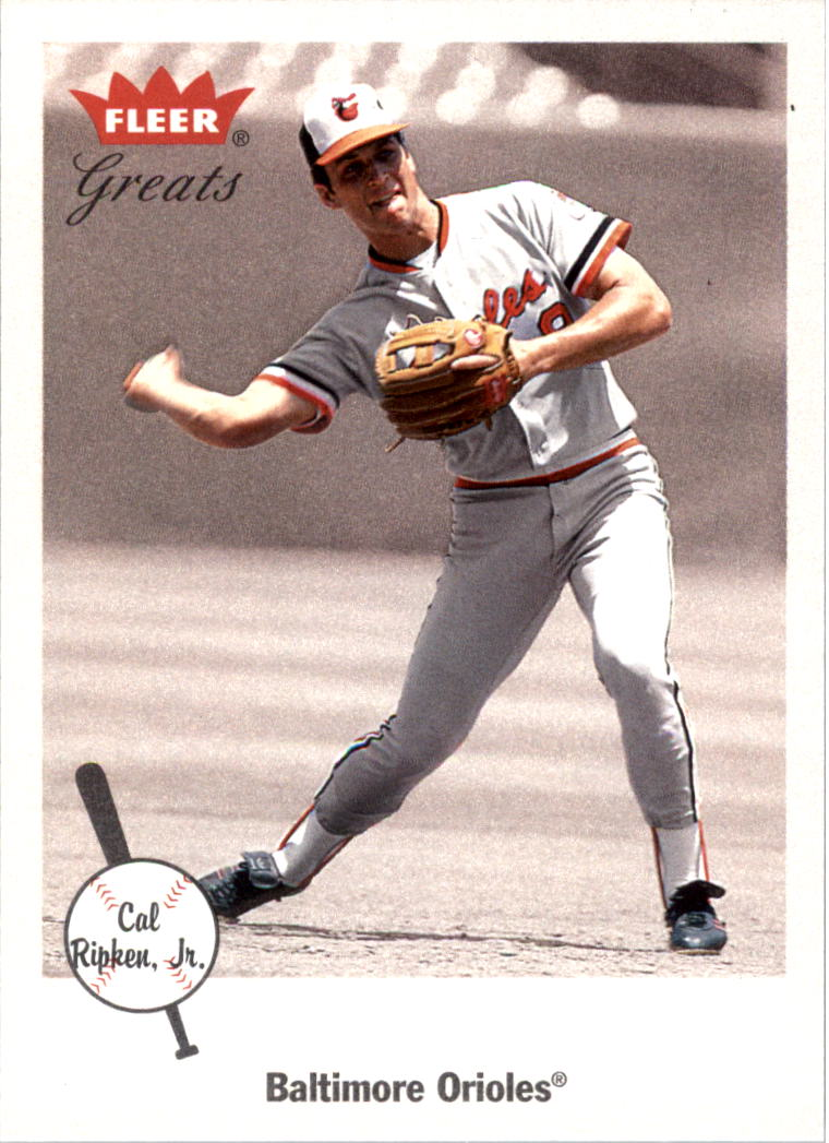 2002 Greats of the Game #1 Cal Ripken