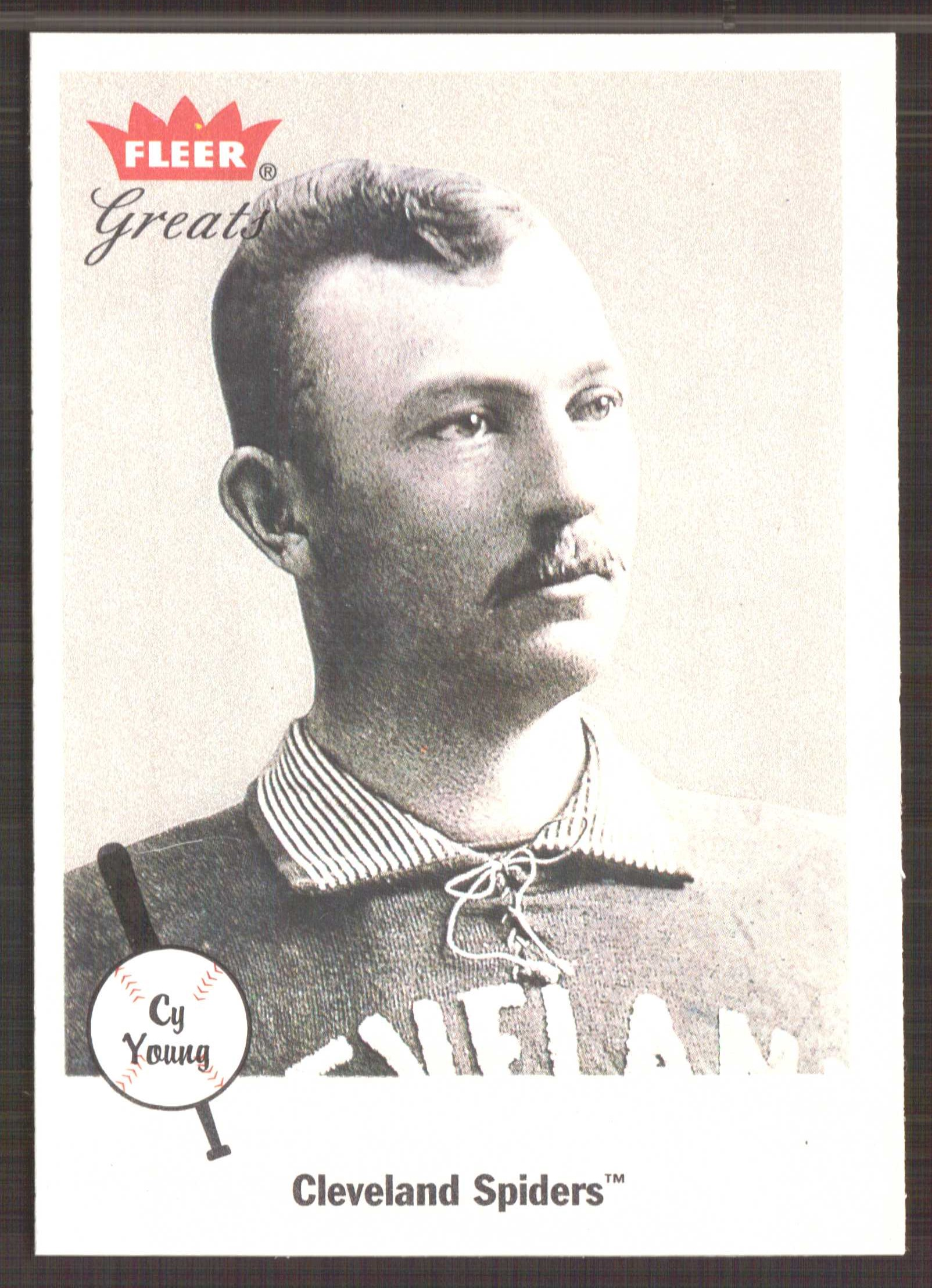 2002 Greats of the Game #4 Cy Young