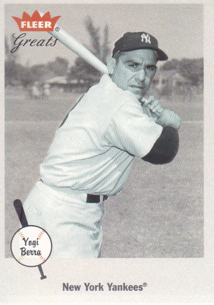 2002 Greats of the Game #60 Yogi Berra