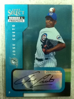 2002 Select Rookies and Prospects #48 Jose Cueto
