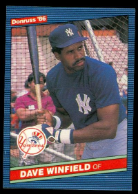 2002 Donruss Originals Embossed #104 Dave Winfield 1986/10