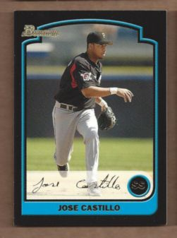 2003 Bowman Draft Gold #125 Jose Castillo