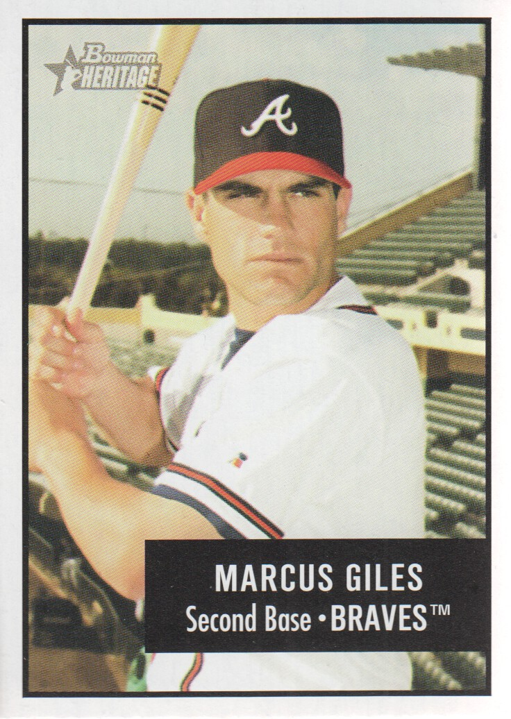 2003 Bowman Heritage #3 Marcus Giles
