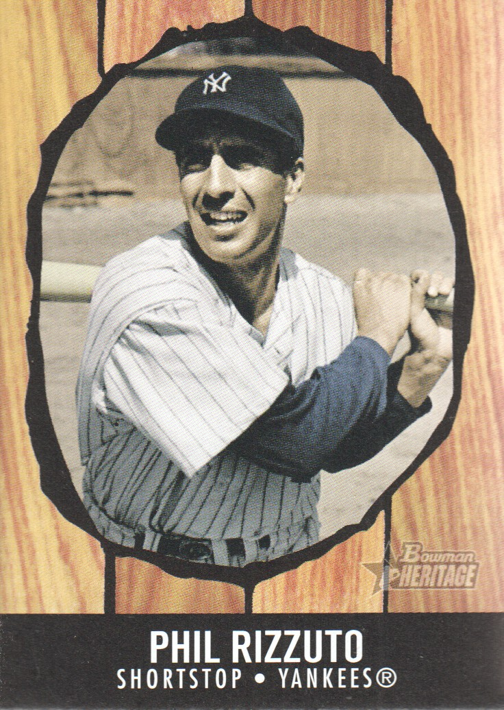 2003 Bowman Heritage #172C Phil Rizzuto KN
