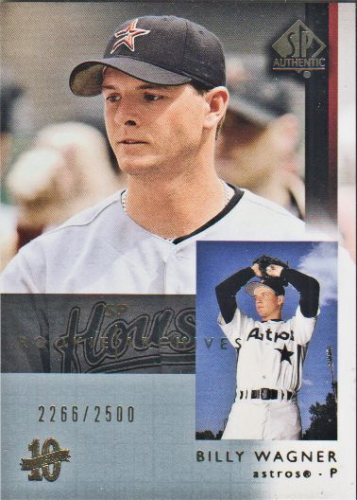 2003 SP Authentic #99 Billy Wagner RA