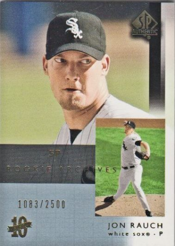 2003 SP Authentic #118 Jon Rauch RA