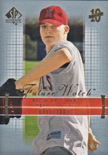 2003 SP Authentic #151 Rich Fischer FW RC