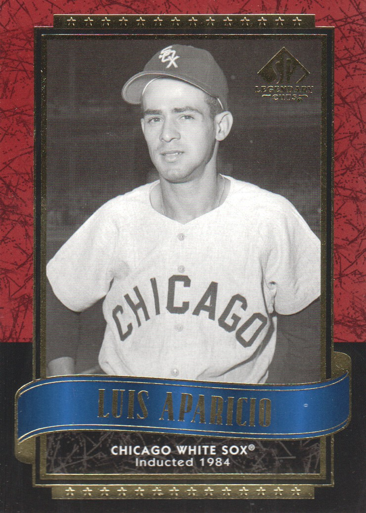 2003 SP Legendary Cuts #1 Luis Aparicio