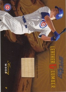 2003 Studio Leather and Lumber #23 Kerry Wood Bat/250