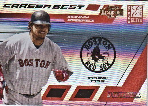 2004 Donruss Elite Extra Edition Career Best All-Stars #24 Manny Ramirez
