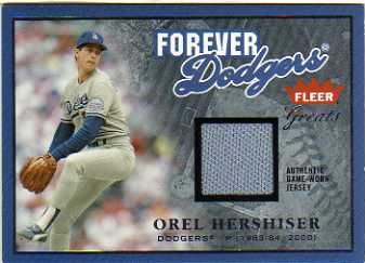 2004 Greats of the Game Forever Game Jersey #OH Orel Hershiser