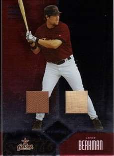 2004 Leaf Limited TNT #88 Lance Berkman Bat-Jsy/50
