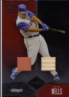 2004 Leaf Limited TNT #247 Vernon Wells A Bat-Jsy/25