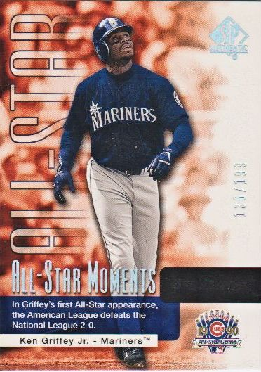 2004 SP Authentic #161 Ken Griffey Jr. ASM