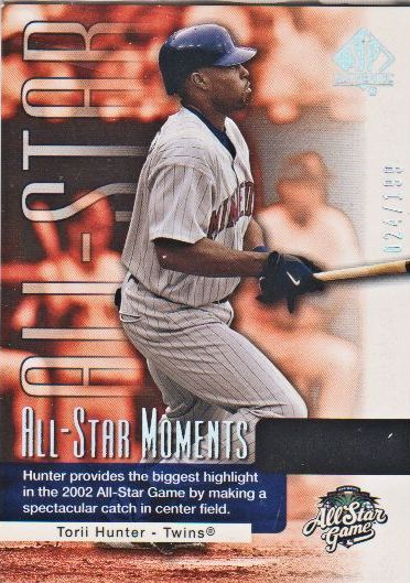 2004 SP Authentic #174 Torii Hunter ASM