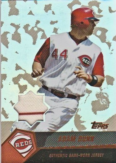 2004 Topps Clubhouse Copper Relics #AD Adam Dunn Jsy