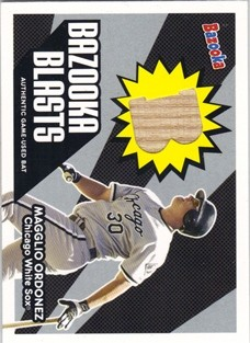 2004 Bazooka Blasts Bat Relics #MO Magglio Ordonez B