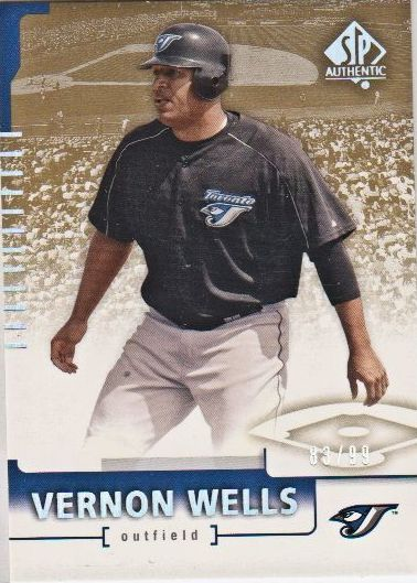 2004 SP Authentic 199/99 #30 Vernon Wells
