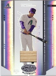 2004 Leaf Certified Materials Mirror Bat White #162 Roberto Alomar/200