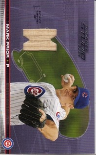 2004 Studio Diamond Cuts Material Bat #7 Mark Prior/200