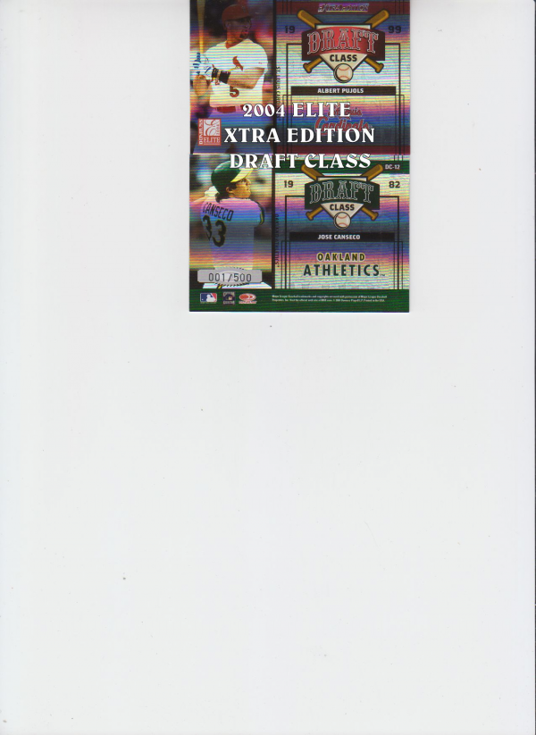 2004 Donruss Elite Extra Edition Draft Class #6 A.Dawson/L.Smith