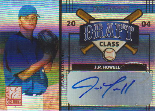 2004 Donruss Elite Extra Edition Draft Class Signature #34 Huston Street/J.P. Howell/100
