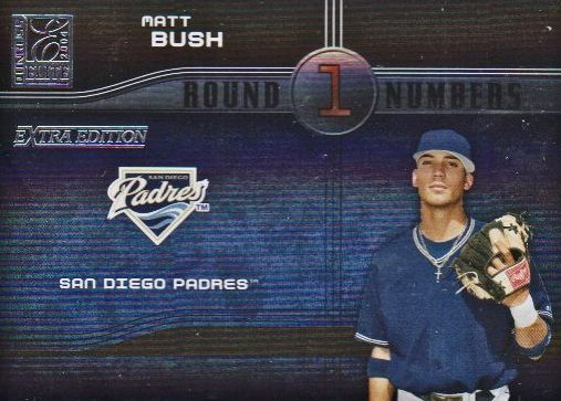 2004 Donruss Elite Extra Edition Round Numbers #13 Matt Bush