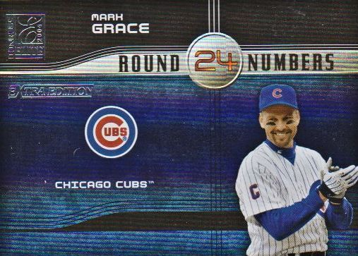 2004 Donruss Elite Extra Edition Round Numbers #17 Mark Grace