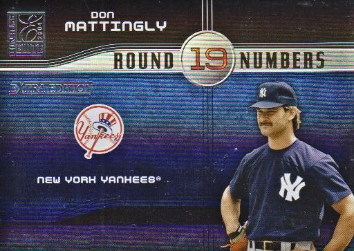 2004 Donruss Elite Extra Edition Round Numbers #23 Don Mattingly