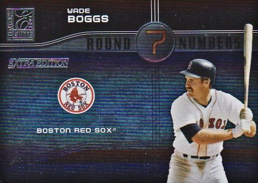 2004 Donruss Elite Extra Edition Round Numbers #26 Wade Boggs