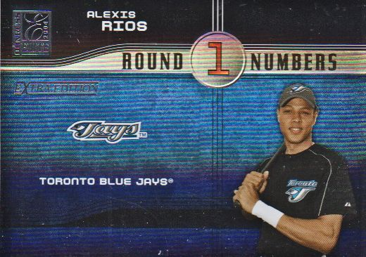 2004 Donruss Elite Extra Edition Round Numbers #32 Alexis Rios