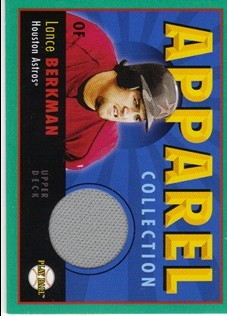 2004 Upper Deck Play Ball Apparel Collection #LB Lance Berkman