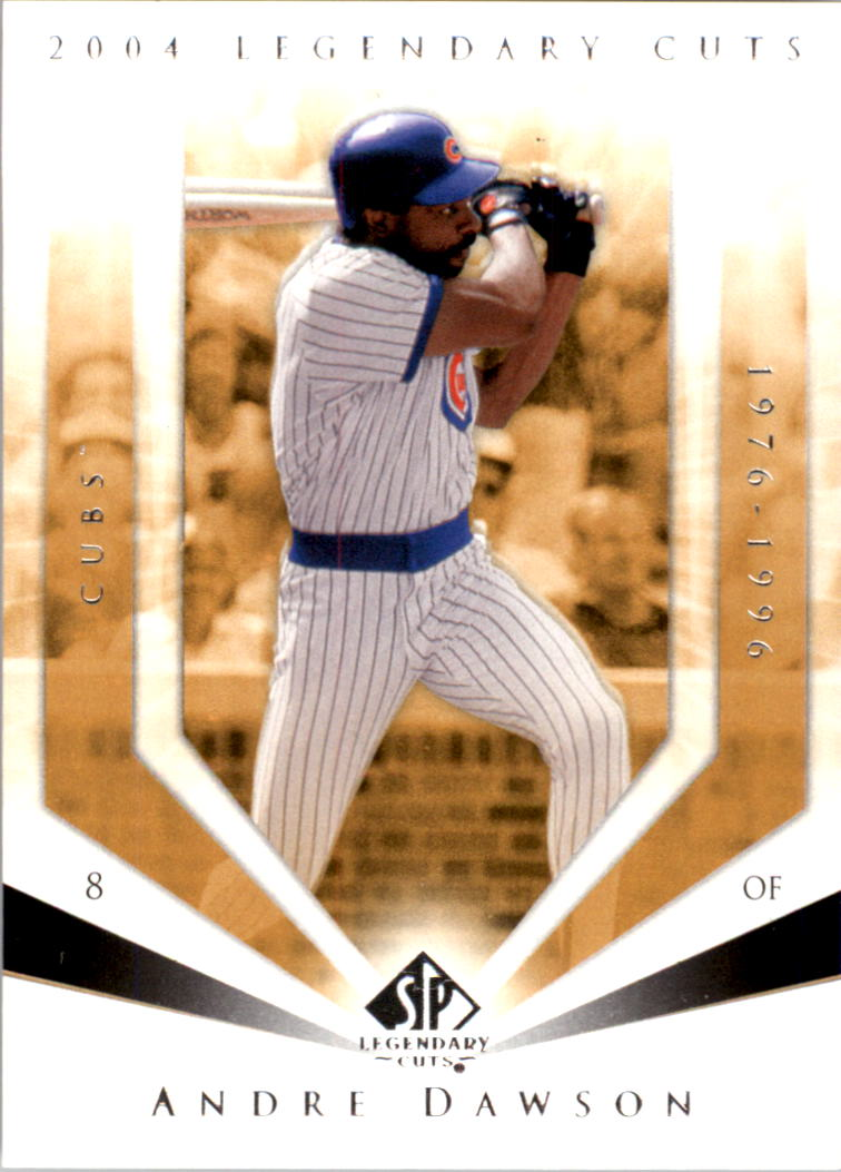 2004 SP Legendary Cuts #4 Andre Dawson