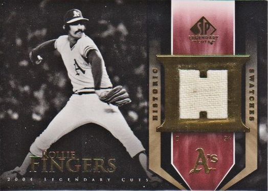 2004 SP Legendary Cuts Historic Swatches #RF Rollie Fingers Pants