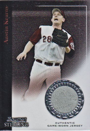 2004 Bowman Sterling #AK Austin Kearns Jsy