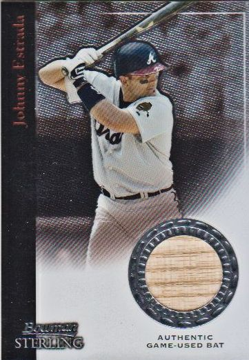 2004 Bowman Sterling #JE Johnny Estrada Bat